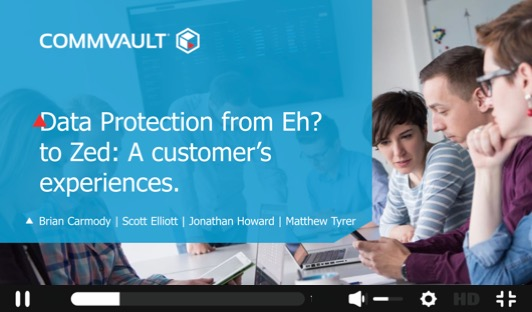 Data Protection from 'Eh?' to 'Zed': A Customer's Experiences